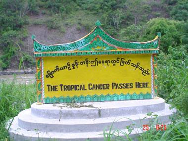 ミャンマーのガン